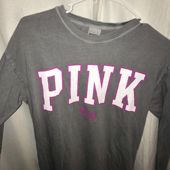 deeb68f04b008 grey shirt with block monogram
